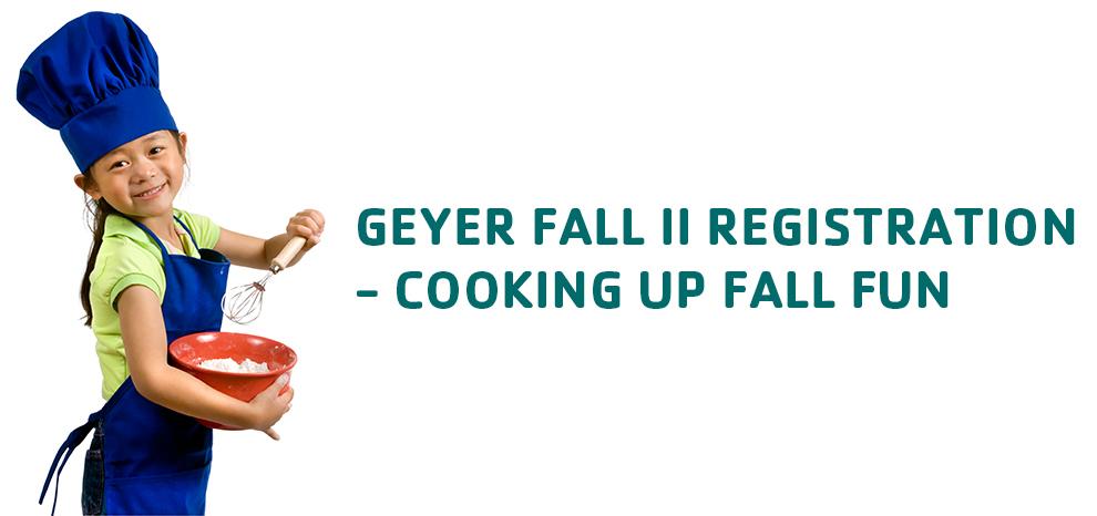 Geyer new session starts 9/15.