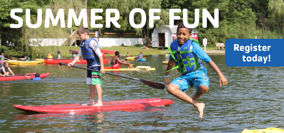 12 CAMPS FOR AGES 2-15 - LEARN MORE >>